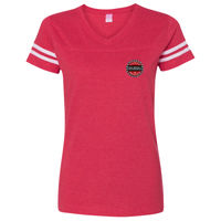 Ladies' Football Fine Jersey T-Shirt Thumbnail