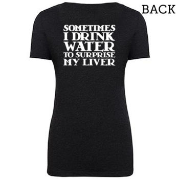 """Surprise My Liver"" T-Shirt Thumbnail"