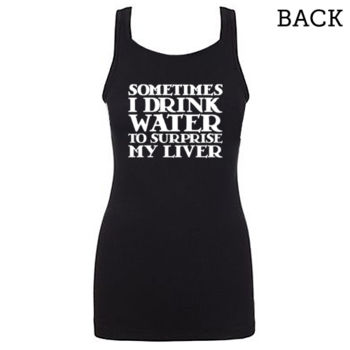 """Surprise My Liver"" Jersey Tank Thumbnail"