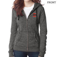 Marled Fleece Full-Zip Hoodie Thumbnail